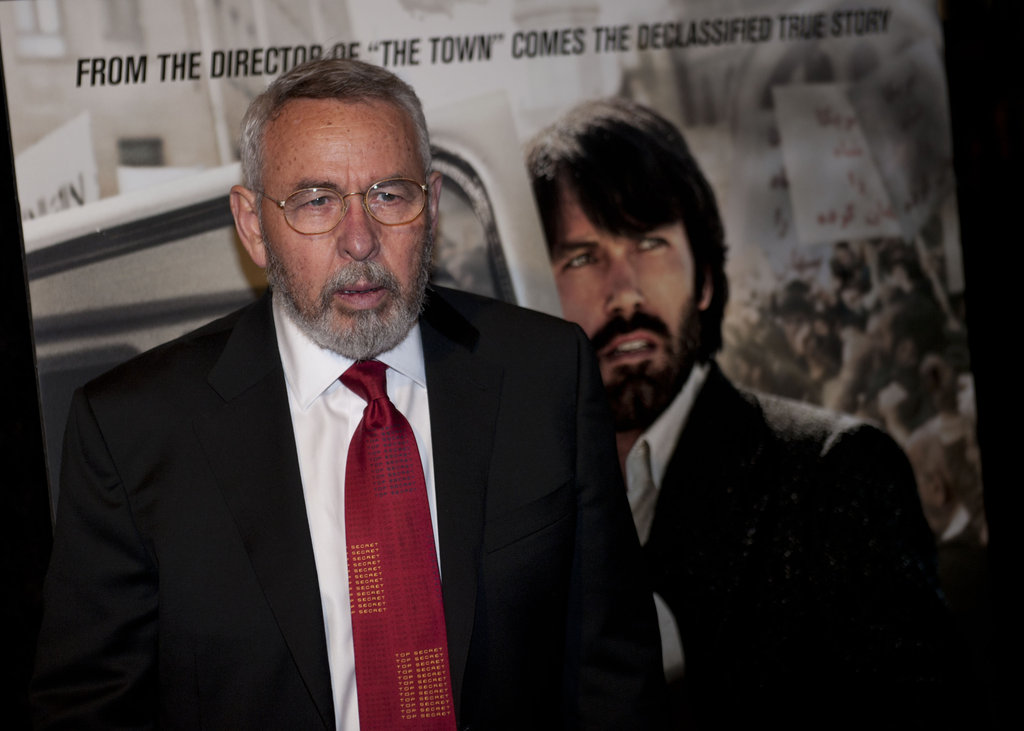 Tony Mendez was on hand to to attend the Argo premiere in Washington DC.