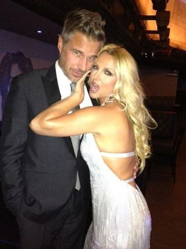 Britney Spears and her fiancé, Jason Trawick, attended the City of Hope Charity Gala in October. Source: Facebook user Britney Spears