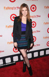 Anna Kendrick hit the red carpet at a Target party in NYC.