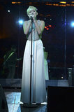 Miley Cyrus performed at the gala honoring Halston CEO Ben Malka in LA.