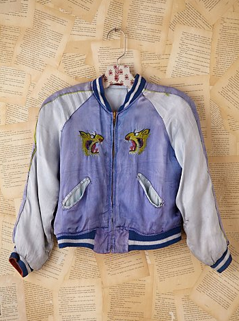 We're obsessed with this Free People Vintage Silk Dragon Souvenir Jacket ($728). It takes on the trend with literal, gorgeous references to Oriental imagery, then gives them a sporty update on a silky varsity jacket.