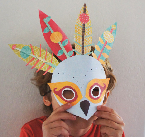 Try a Printable Mask