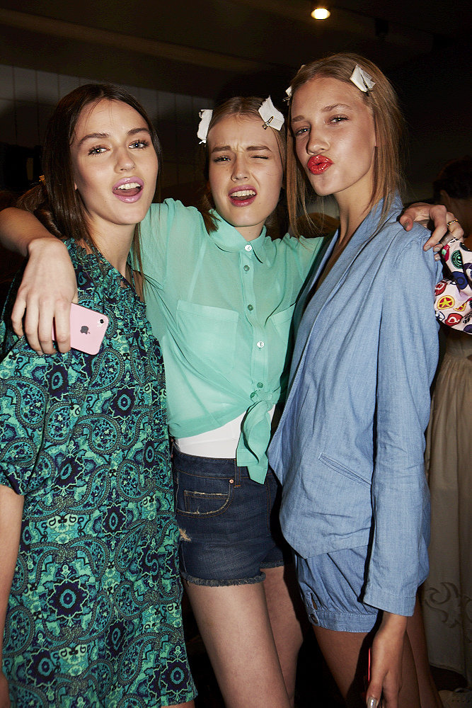 Backstage Snaps From the ASOS Fashion Show