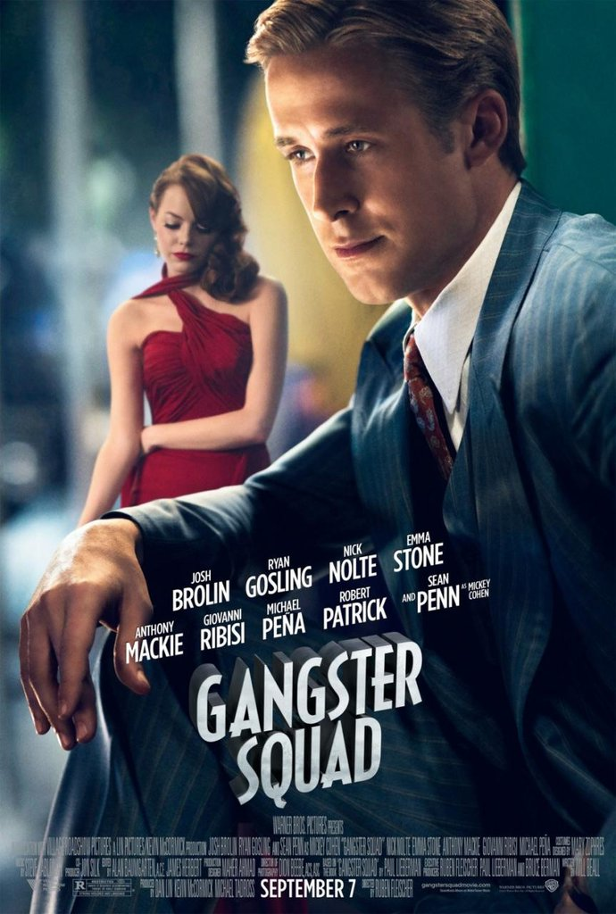 See Ryan Gosling and More in the Throwback Posters For Gangster Squad