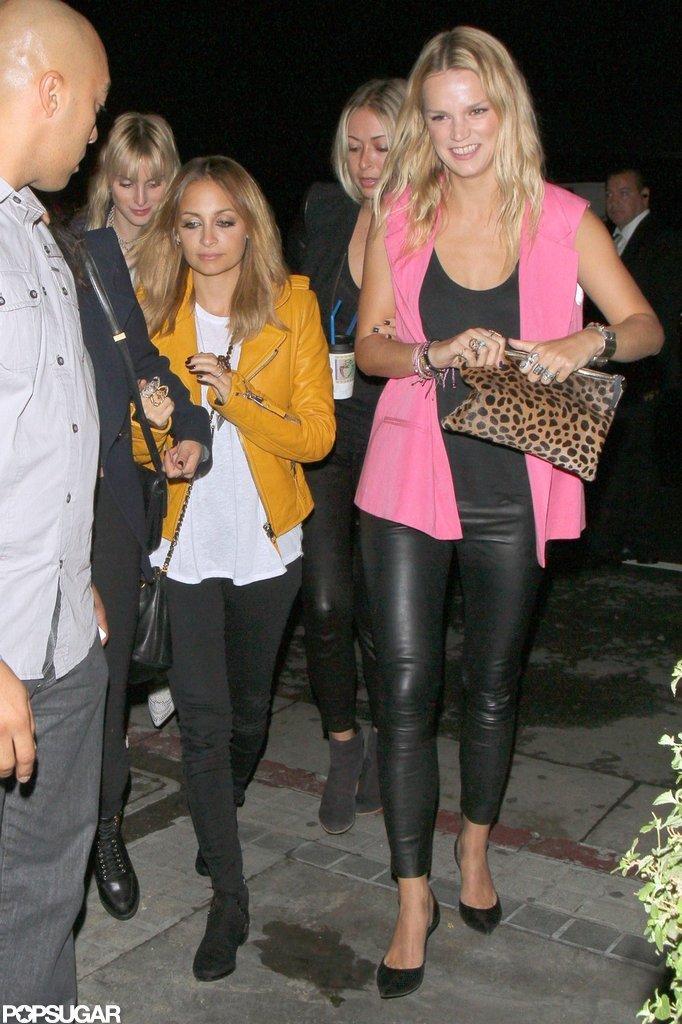 Nicole Richie went to Madonna's show.