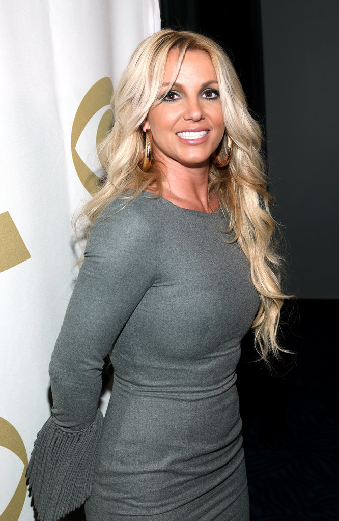 "Britney Spears posed for photos at the ""We Will Always Love You"" tribute to Whitney Houston in LA."