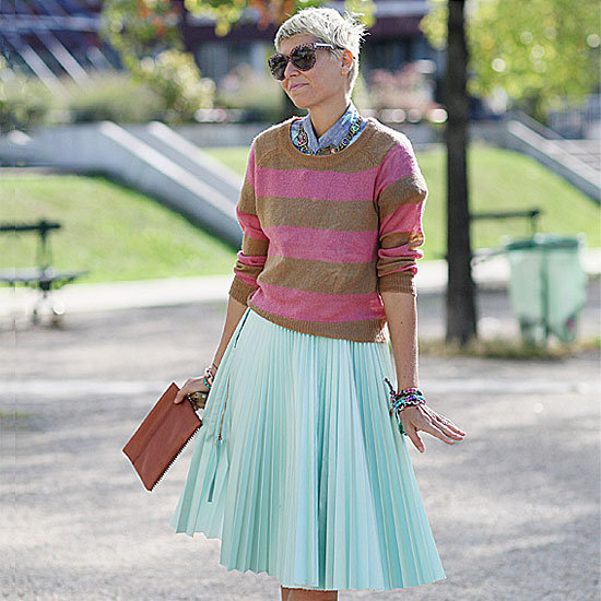 Ladylike, Lovely, and a Little Edgy — 14 Fall-Perfect Pleated Skirts