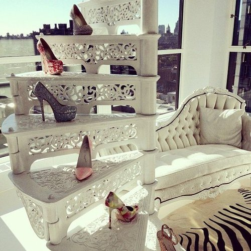 Alice + Olivia, shoes, and sun — could we have asked for more?