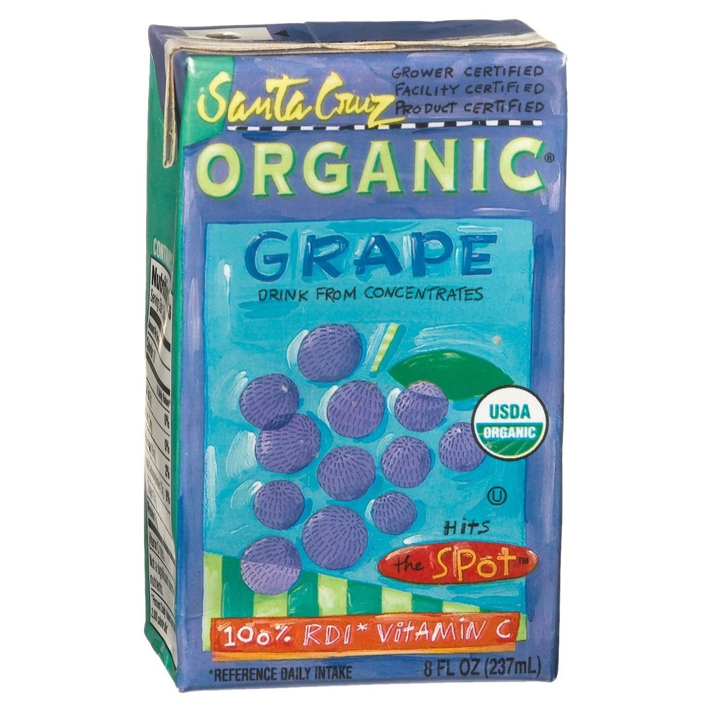 Santa Cruz Organic Grape Juice