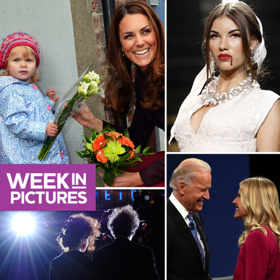 Kate Makes a Friend, Models Get Morbid, and Biden Greets Ryan's Wife