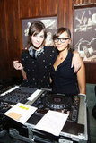 "Alexa Chung and Rashida Jones played DJ at Glamour Presents ""These Girls"" at Joe's Pub in NYC on October 8."