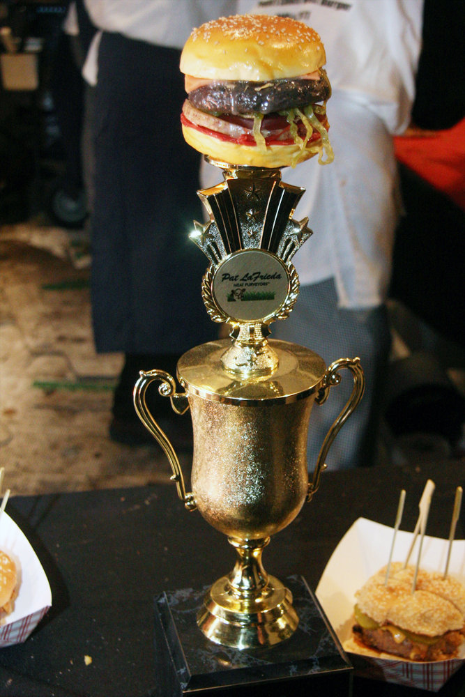 Burger Bash Trophy