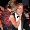 George Clooney and Stacy Keibler PDA Pictures at Carousel of Hope Ball