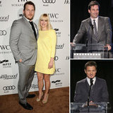 Anna Faris and Chris Pratt Have a Real Party With Jon and Jeremy