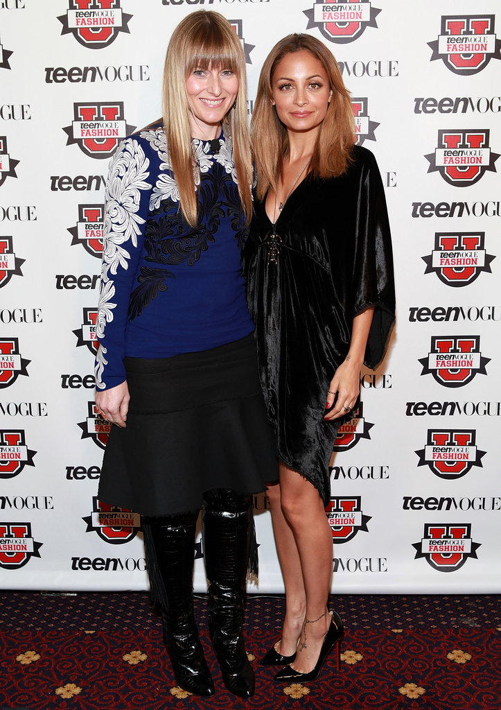Nicole Richie linked up with Amy Astley at the Teen Vogue Fashion University event in NYC.