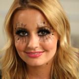 Spiderweb Makeup For Halloween