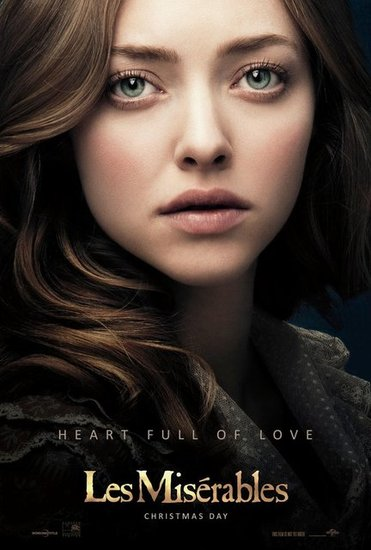 Amanda Seyfried in Les Misérables