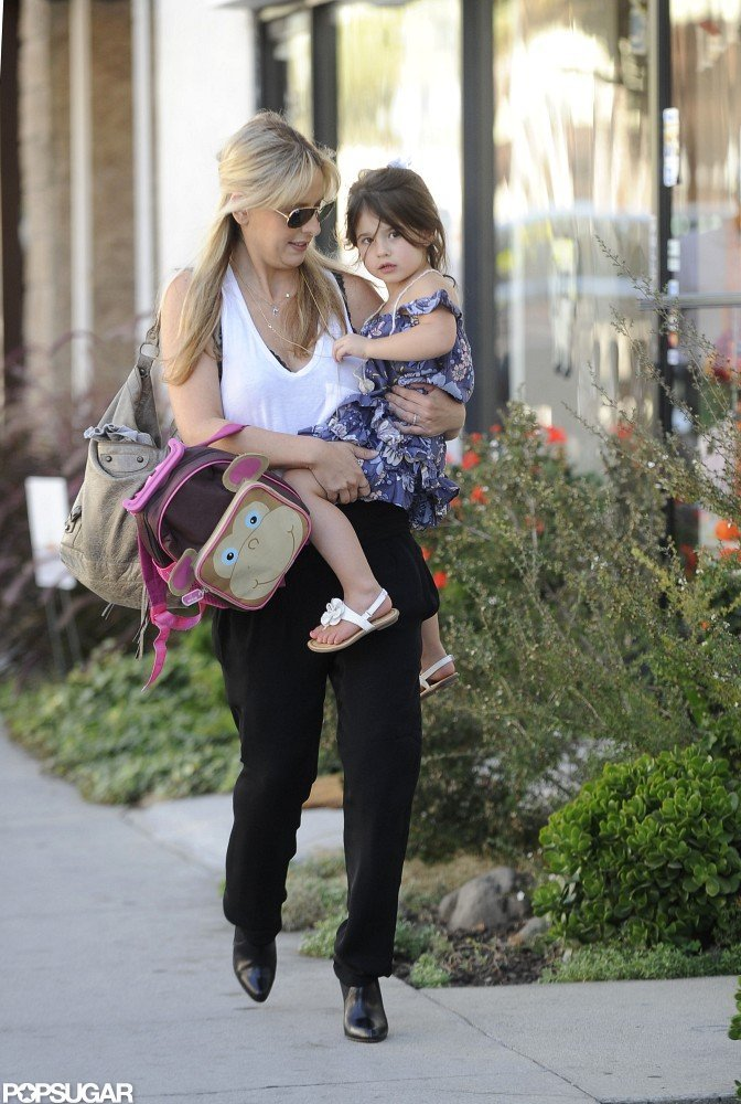 Sarah Michelle Gellar and Charlotte Prinze made their way down the street in LA.