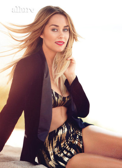 LC Shows Midriff and Talks Dating in Allure
