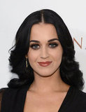 Katy Perry wore a smokey eye for the NYC benefit.
