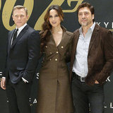 Daniel Craig and Skyfall Cast Pictures at NYC Photo Call