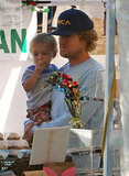 Owen Wilson and His Son Robert Spend the Weekend in Malibu