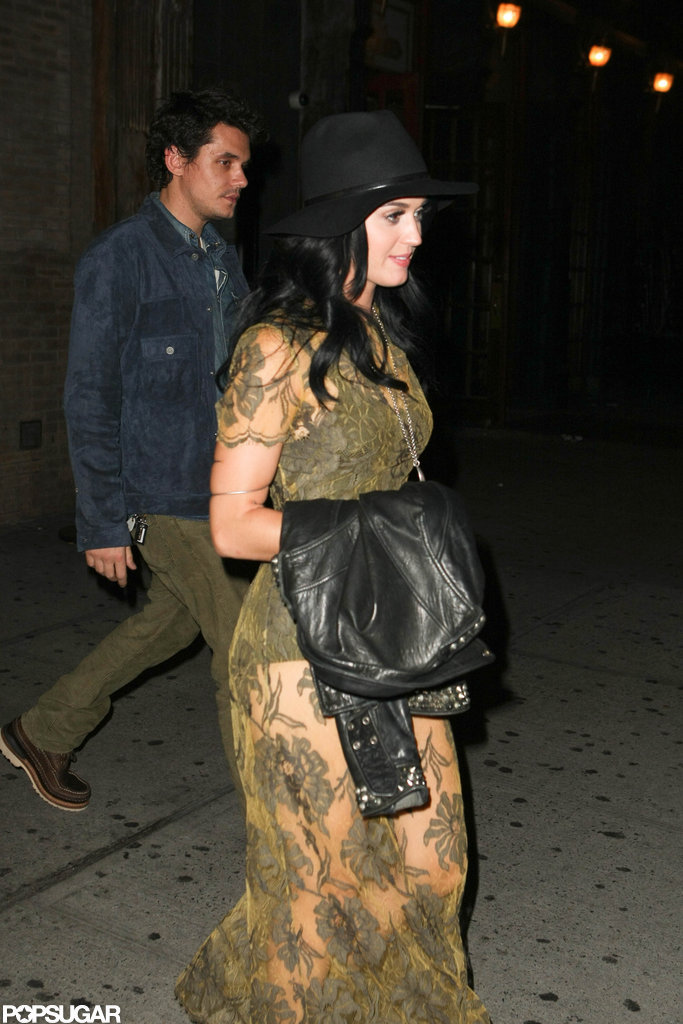 Katy Perry and John Mayer had a Big Apple date night.