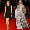 Elle Fanning, Marion Cotillard at London Film Festival 2012