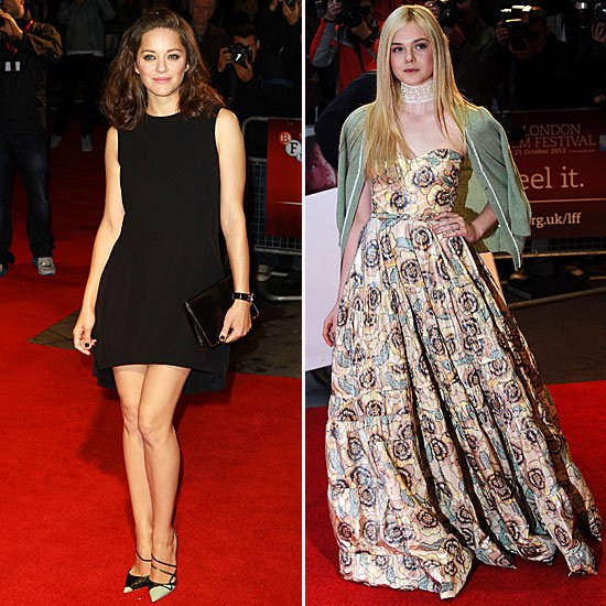 Marion and Elle Give Us Double the Glamour at the London Film Fest