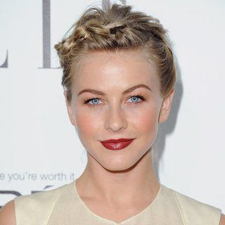 Get Julianne Hough's Braided Bun From the Elle Women in Hollywood Celebration