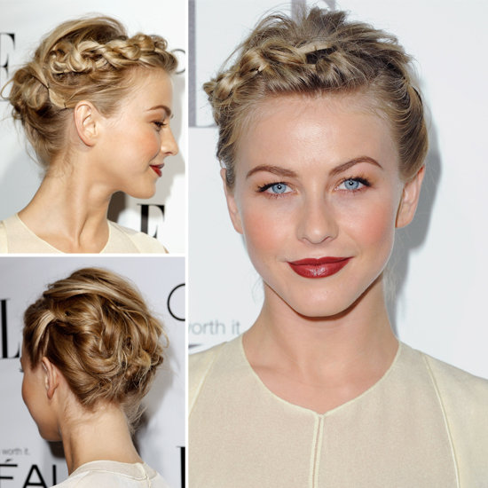 Julianne Hough s Short Hair UpdoJulianne Hough Short Hair Updo
