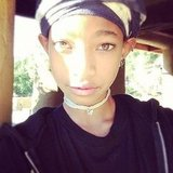 Willow Smith took a photo in the sunlight. Source: Instagram user letsmakeitdotuu