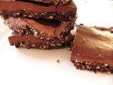 Raw, Vegan Fudge Brownies