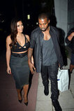 Kim and Kanye Reunite For a Sexy Dinner Date