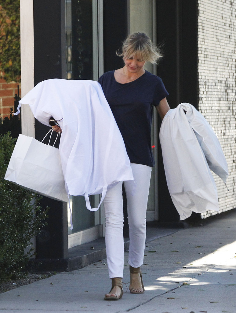 Cameron Diaz stepped out in California.