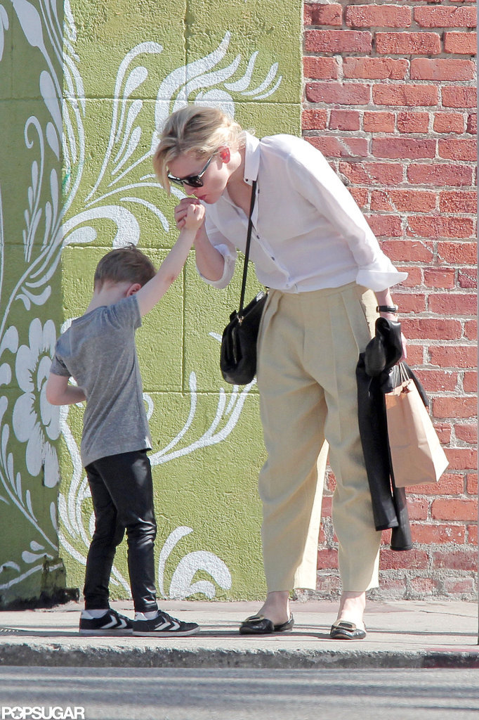 Cate Blanchett Shares a Sweet Treat With Her Son