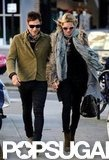 Kate Moss and Jamie Hince stepped out in London.