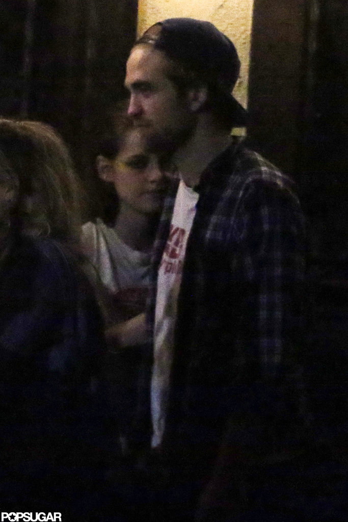 Kristen Stewart stayed close to Robert Pattinson.