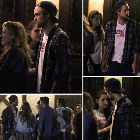 Robert Pattinson and Kristen Stewart Are Back Togetherrobert pattinson and kristen stewart