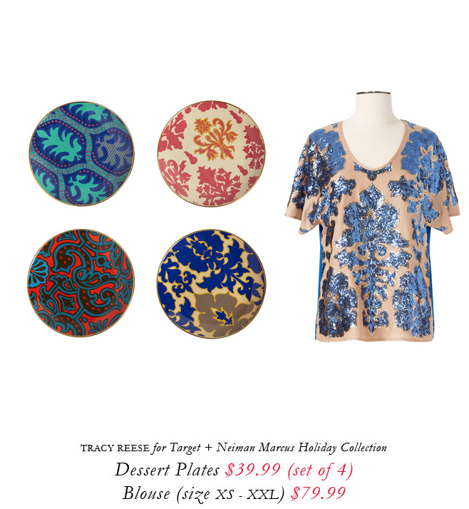 Tracy Reese for Target + Neiman Marcus holiday collection.