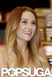 Lauren Conrad was all smiles at her book signing.