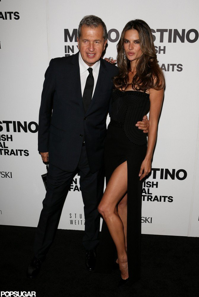 Gisele and Alessandra Toast Mario Testino in Boston