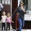 Jennifer Garner and Seraphina at Coffee Shop | Pictures