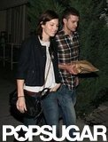 Justin Timberlake and Jessica Biel grabbed dinner in Toronto during an October 2007 visit.