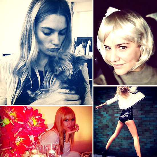 Pictures of Celebrities and Models on Social Media | Oct. 18, 2012