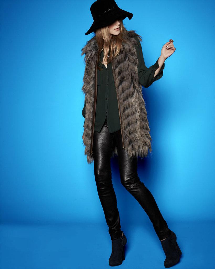 A Cozy Fur Vest