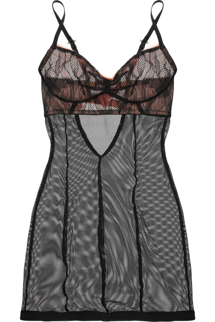 This The Lake and Stars Miracle Box Chemise ($205) screams sexy, but we'd wear it with chunky socks and a cozy cardigan around the apartment, too.