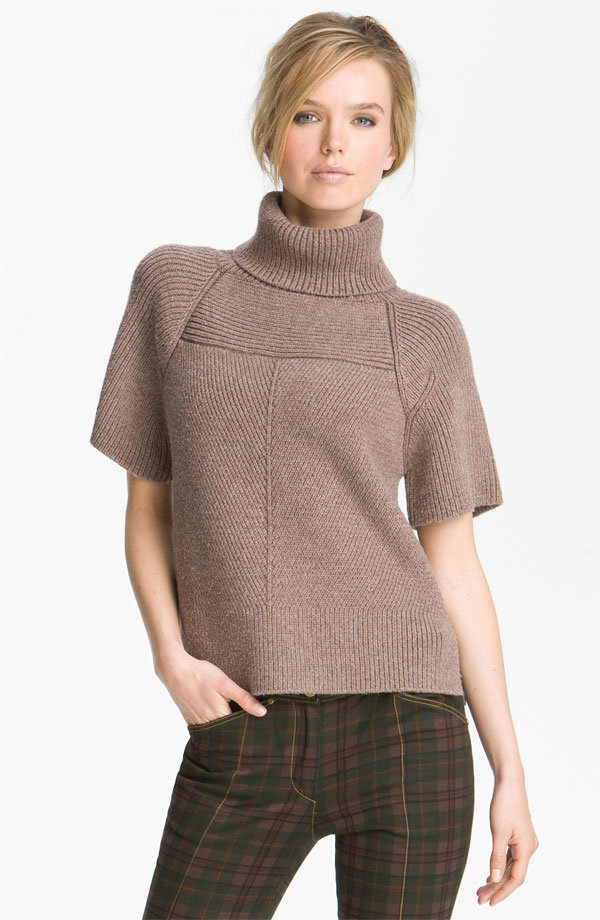 A Modern Turtleneck Sweater