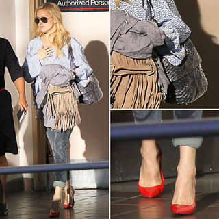 Kate Hudson Airport Style | October 2012