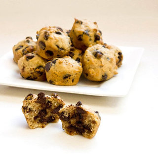 Chocolate Chip Oatmeal Mini Muffins